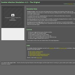 Zombie Infection Simulation v2.3