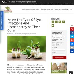 Eye Infections And Homeopathy As Their Cure