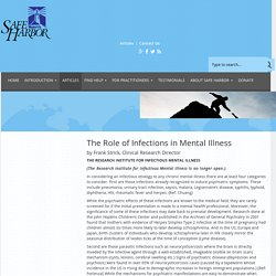 The Role of Infections in Mental Illness