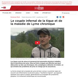RTS_CH 19/06/16 Le couple infernal de la tique et de la maladie de Lyme chronique