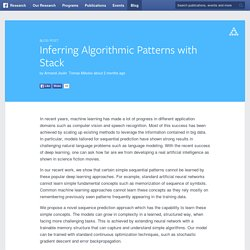 Inferring Algorithmic Patterns with Stack