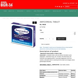 AMYCORDIAL TABLET