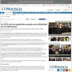 Un 25% de los españoles acepta una infidelidad en el matrimonio