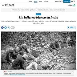 Un infierno blanco en India