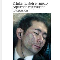 El Infierno de ir en metro capturado en una serie fotográfica - Creators
