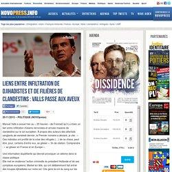Liens entre infiltration de djihadistes et de filières de clandestins : Valls passe aux aveux