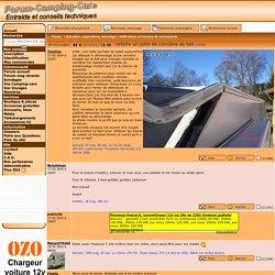 refaire un joint de cornière de toit Forum Forum-Camping-Car.fr. Infiltrations et travaux de carrosserie
