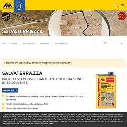 Protettivo consolidante anti infiltrazione base solvente SALVATERRAZZA