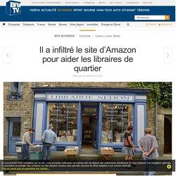Il a infiltré le site d'Amazon pour aider les libraires de quartier