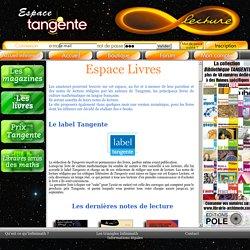 Espace Lecture d'Infinimath - Tangente - Editions POLE - Prix Tangente - CLAMATH