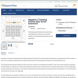Magento 2 Catalog Infinite Ajax Scroll Extension