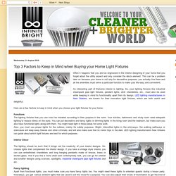 Top 3 Factors to Keep in Mind when Buying Industrial LED lighting New Orleans