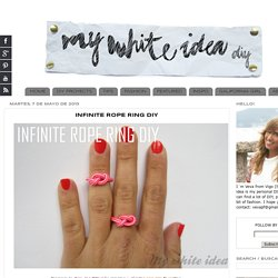 INFINITE ROPE RING DIY