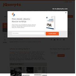 5 jQuery Infinite Scrolling Demos