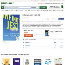 Infinite Jest, David Foster Wallace, (9780316073851) NOOKbook (eBook) - Barnes & Noble