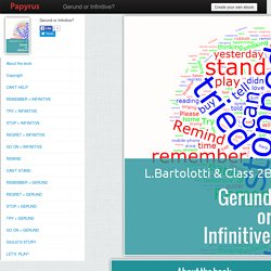 Gerund or Infinitive?- PapyrusEditor