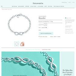 Tiffany Infinity bracelet in sterling silver.