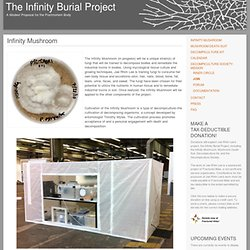 Infinity Mushroom « The Infinity Burial Project