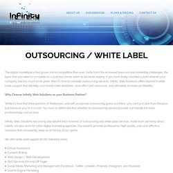 Outsourcing / White Label