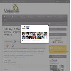 Infinity- A stunning theme for conky | Ubuntu, LinuxMint & Fedora