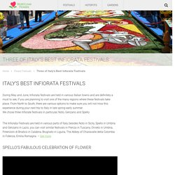 Three of Italy's Best Infiorata Festivals - World Love Flowers