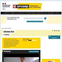 infirmier / infirmière - Onisep