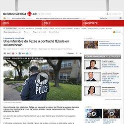 Une infirmière du Texas a contracté l'Ebola en sol américain
