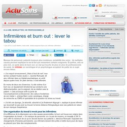 Burn out : lever le tabou