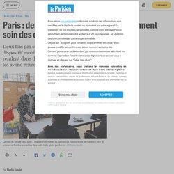 Paris : des infirmières spécialisées prennent soin des exclus