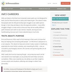 INFJ Careers
