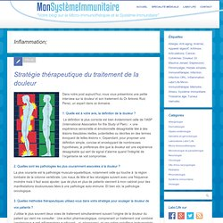 Inflammation; - Notre Expérience En Micro-Immunothérapie -