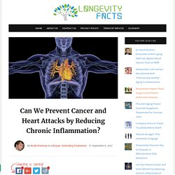 Can We Prevent Cancer and Heart Attacks by Reducing Chronic Inflammation? » LongevityFacts