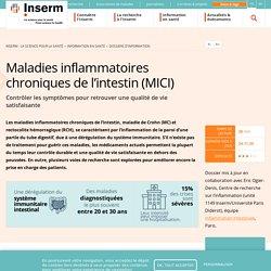 Maladies inflammatoires chroniques de l'intestin (MICI)