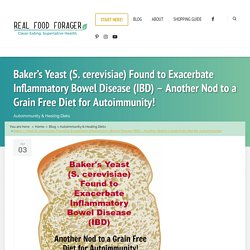 Baker's Yeast (S. cerevisiae) Found to Exacerbate Inflammatory Bowel Disease (IBD) – Another Nod to a Grain Free Diet for Autoimmunity!