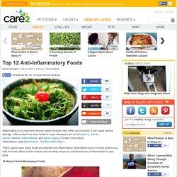 Top 12 Anti-Inflammatory Foods
