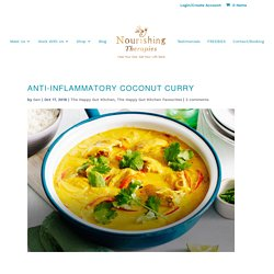 Immune Toning Coconut Curry - Kara Fitzgerald ND Naturopathic Doctor
