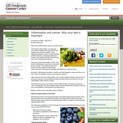 Anti-Inflammatory & Cancer Preventing Foods