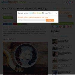 Anti-Inflammatory Superfood Chia Pudding