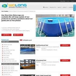 Inflatable pool_Wolong Amusement Equipment Co.,LTD.