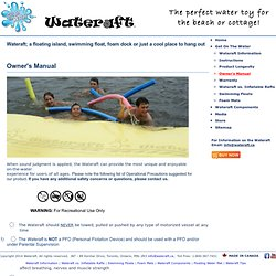 Water Rafts