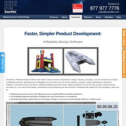 Inflatables Design Software for Manufacturers of Inflatable Products