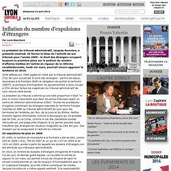 Inflation du nombre d'expulsions d'étrangers / Justice / Actualité / univers / journal