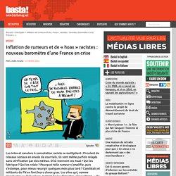 Inflation de rumeurs et de « hoax » racistes : nouveau baromètre d'une France en crise