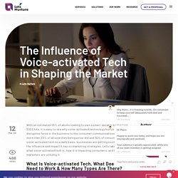 The Influence of Voice-activated Tech in Shaping the Market