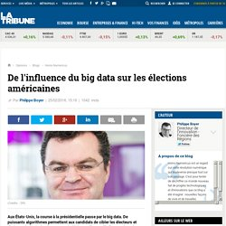 De l'influence du big data sur les élections américaines