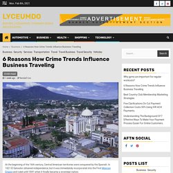 6 Reasons How Crime Trends Influence Business Traveling