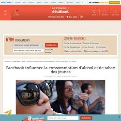 Facebook influence la consommation d'alcool et de tabac des jeunes