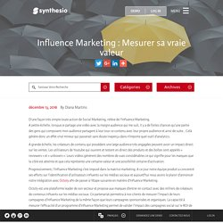 Influence Marketing : Evaluez l'impact réel des influenceurs