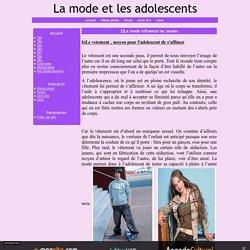 Les adolescents, internet et les nouvelles technologies