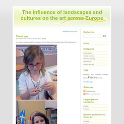The influence of landscapes and cultures on the art across Europe